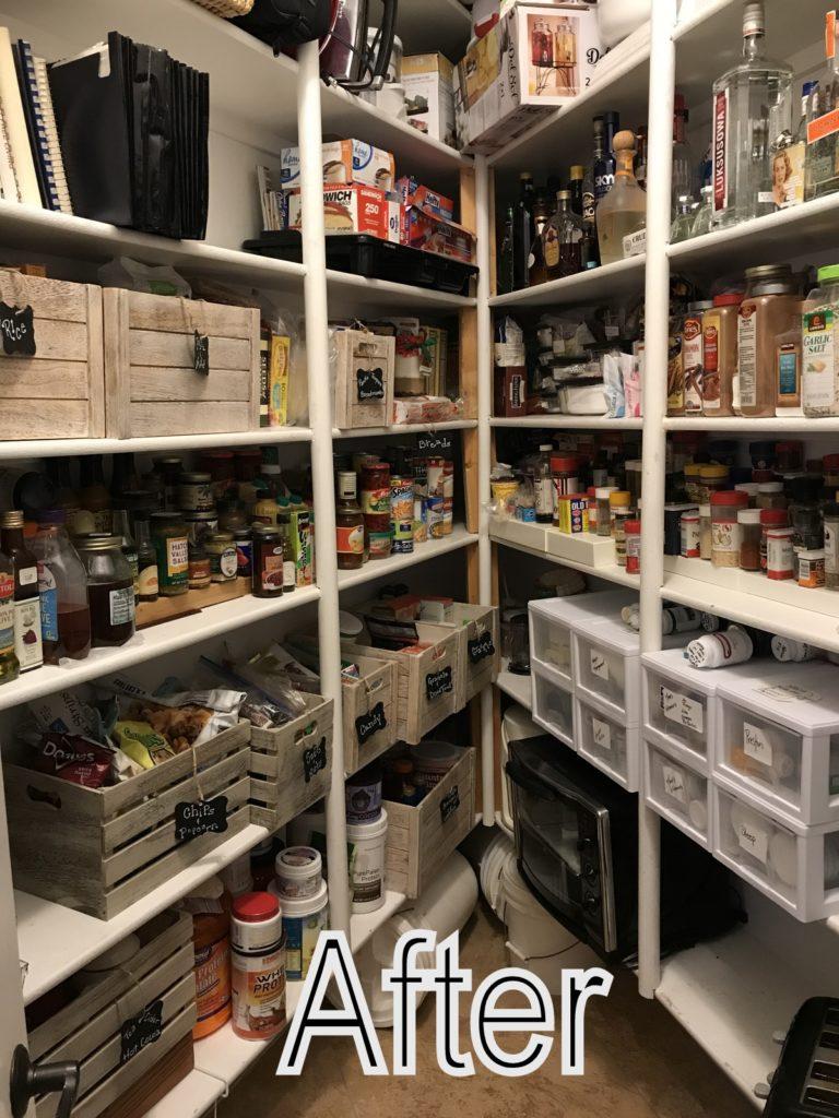 andrea brundage organize my pantry organized pantry