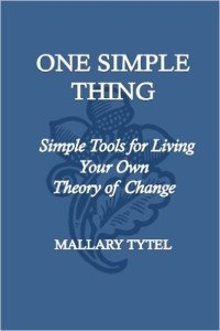 One Simple Thing book cover