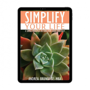 Simplify Your Life E-Book