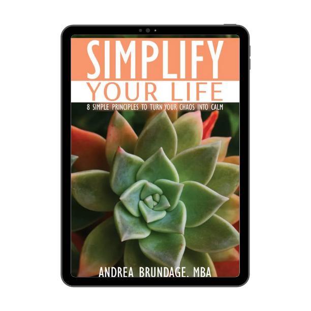Simplify Your Life E-Book