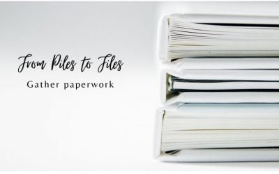 Organize Your Estate: From Piles to Files